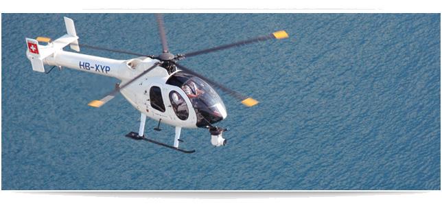 Helicopter mit CineFlex